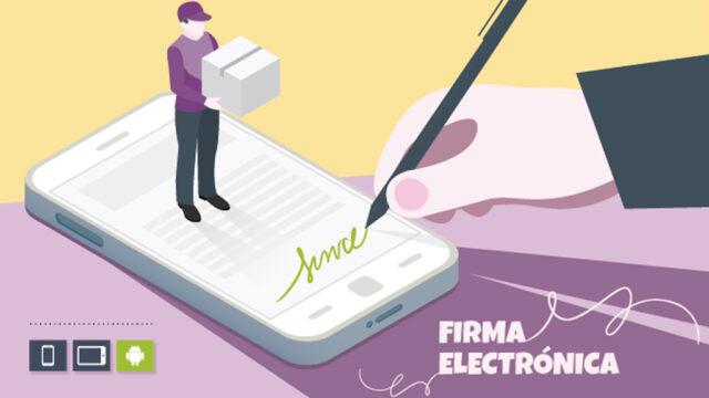 Solución de movilidad para firma electrónica de documentos