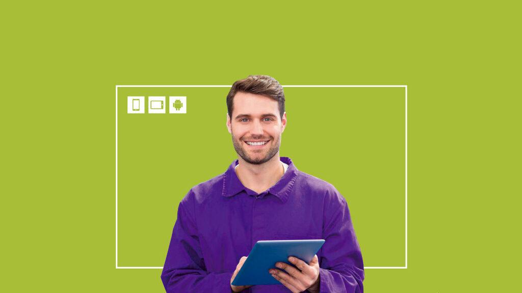 Solución Software APP de movilidad Android Partes de Trabajo Electrónicos. Galdón Software