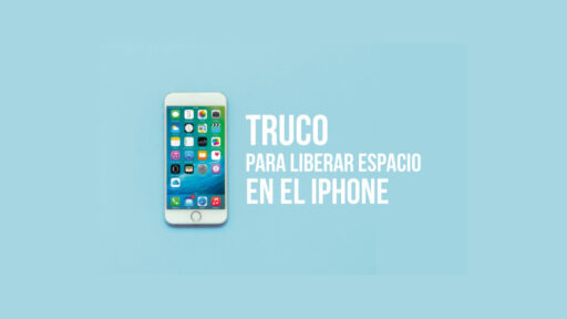 Truco para liberar espacio en el iPhone