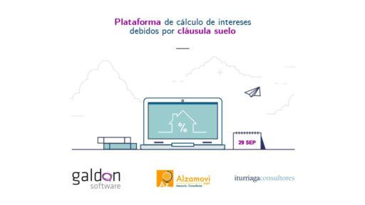 Plataforma Cláusula Suelo Galdón Software