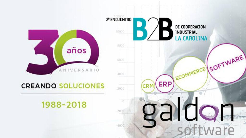 b2b cooperacion industrial la carolina Galdón Software