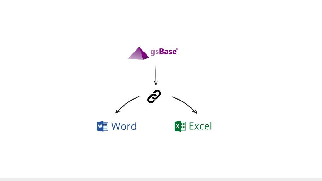 integración word excel con gsbase