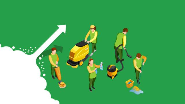 Mejora del rendimiento de las Empresas de Limpieza