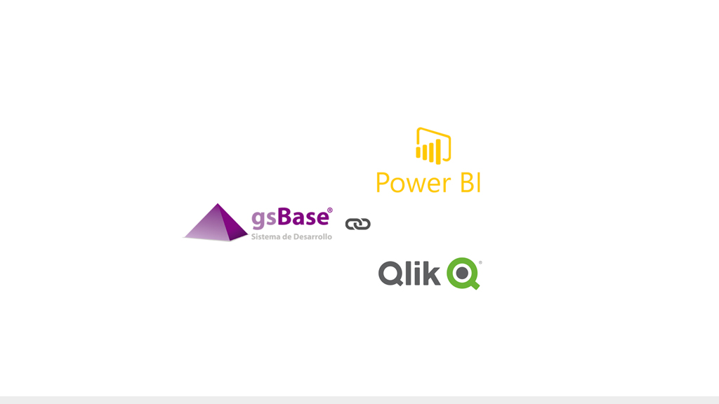 Integración de gsBase con Power BI y Qlikview