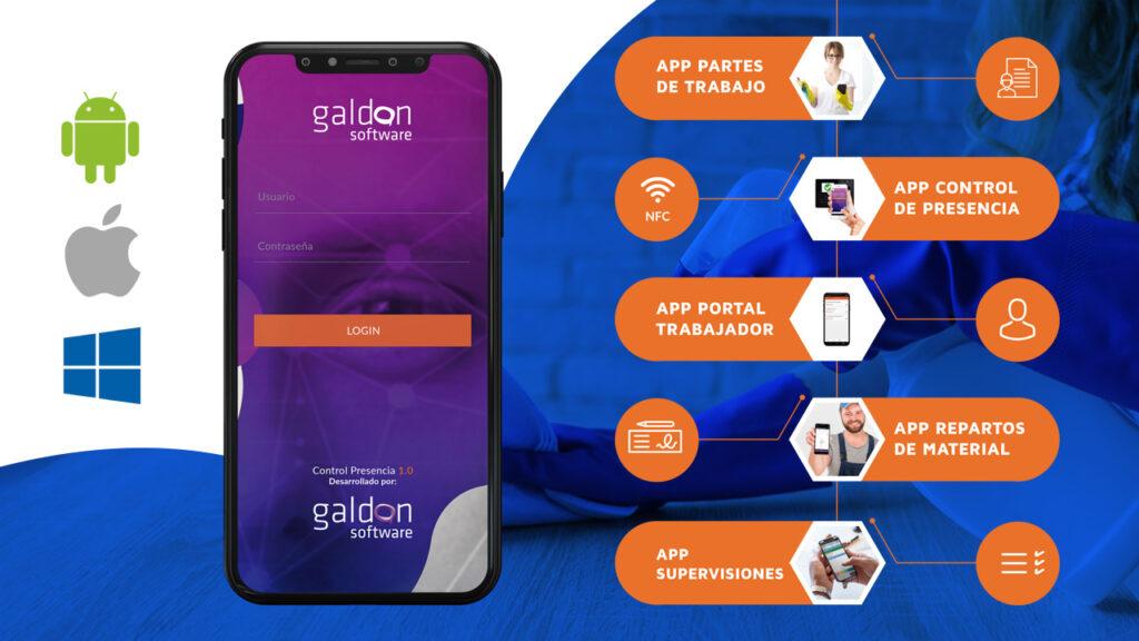 Aplicaciones Limpieza Hygenalia 2019 Galdón Software