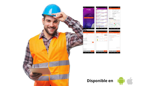 Nueva versión de la APP móvil Partes de Trabajo