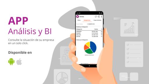 aplicación móvil análisis bi