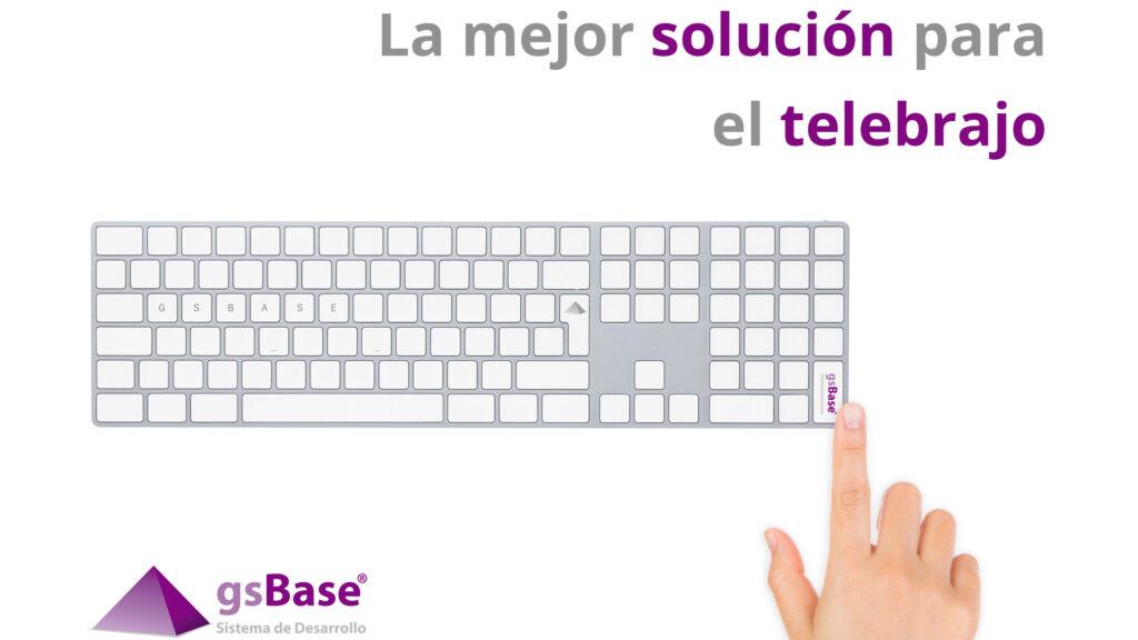 teletrabajo gsBase Galdón Software