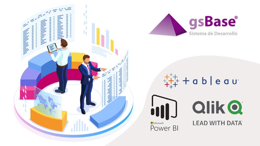 exportación de base datos gsbase a herramientas business analytics