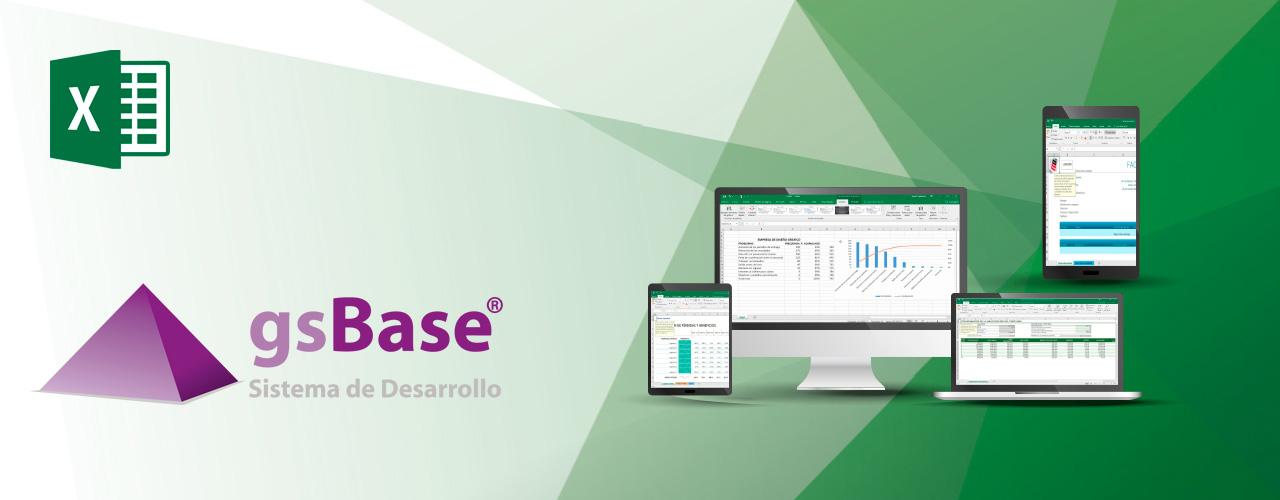 gsbase exportación base de datos herramientas business analysis
