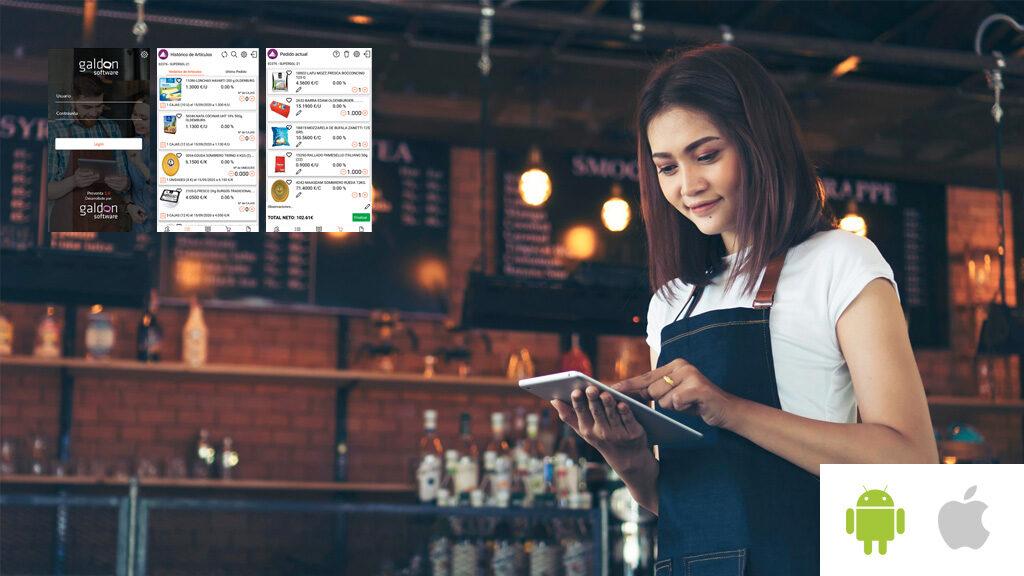 APP para Pedidos de Cliente Profesional B2B