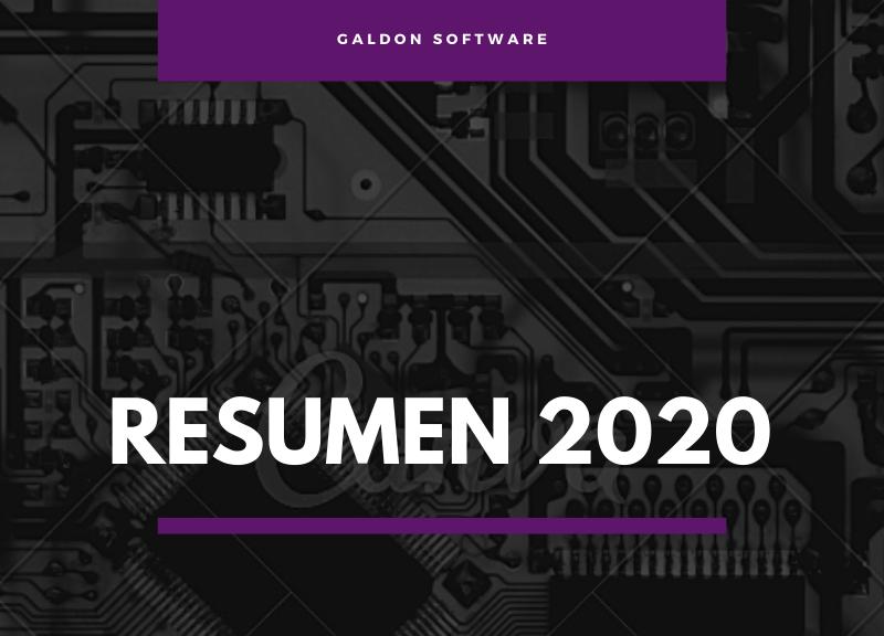 Así ha sido el 2020 en el blog de Galdón Software…